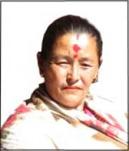 vice-chairperson of Tripurasundari municipality, Dolpa